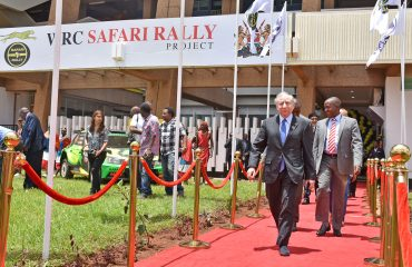 FIA President Jean Todt opens the WRC Safari Rally Project Headquarters in Nairobi