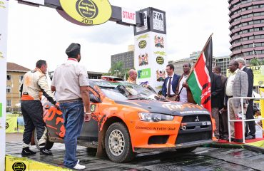 Carl Tundo shows flashes of brilliance at the 2018 Safari Rally