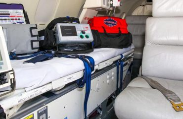 Presidential standard medical equipment for Safari Rally