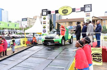 2018 Safari Rally Flag Off